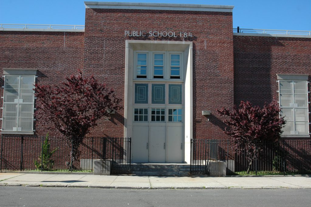PS184Q Main Door Entrance